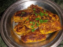 photo of kacche kele ki chap (spicy plantain)