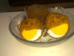 Egg devil / egg cutlet