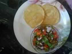 Chole with Bhature