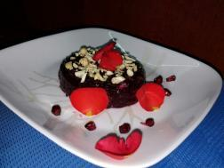 photo of pomegranate halwa