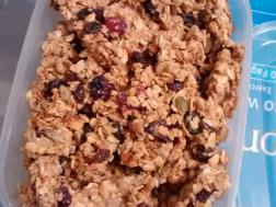 photo of granola baars
