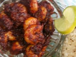 photo of prawns dry masala