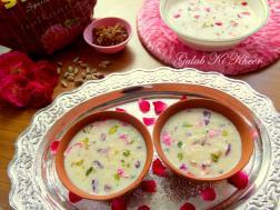 photo of gulab ki kheer / rose pudding recipe