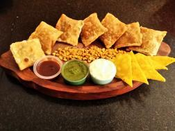 photo of chana daal platter