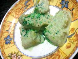 photo of bottle gourd ice-cream (lauki ice-cream)