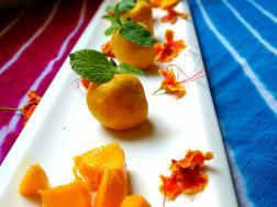 photo of mango sandesh