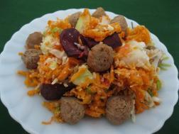 photo of Carrots and Cabbage Salad