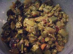 photo of masala bhindi