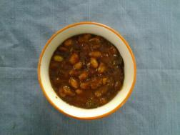 photo of panch-amrut ( sweet / tangy tamarind chutney)