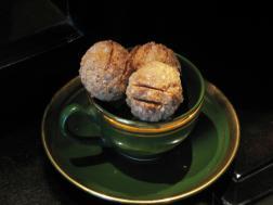 photo of goan coconut cookies ( bolinhas)