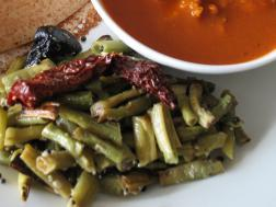 photo of Alsande Bhaji ( Runner Bean Vegetable)