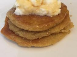 photo of oats banana pancake|| no sugar and leavening agent added