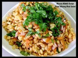 Fried Moong Dhal Salad