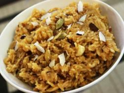 photo of jaggery rice (gud waale chawal)