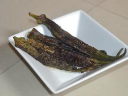 picture of Kalonji Bhindi (Stuffed Okra with Indian Spices)
