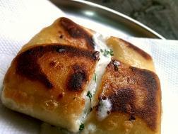photo of malai chop (cream stuffed savoury fritters)