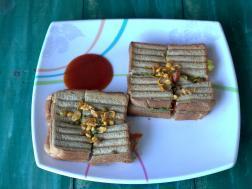 photo of Mumbai masala toast