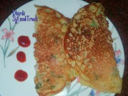 photo of dhirdi - indian spicy mix flour pancake