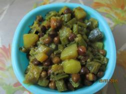 photo of ghanta (mix veg)