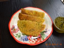 photo of Kothimbir Rava Dosa