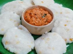 photo of Sojja Kudumu (Rice Rava Idli)