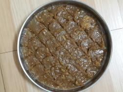 photo of walnut mysorepak