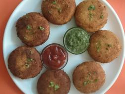 photo of mutton kheema patties
