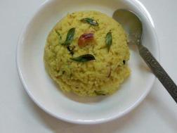 photo of saamai rice (little millet) ven  pongal