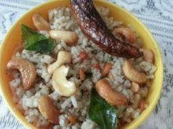 photo of urad dal and pepper rice