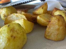 picture of Quick Fried Aloo Side Dish ( Fried potato snack or side dish)