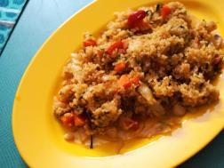 photo of diabetic friendly fried rice recipe.....