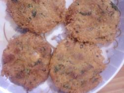 Konthiya kari cutlet - Minced Mutton cutlet