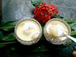 photo of litchur payesh (litchi kheer)
