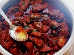 photo of kudampuli meen curry (fish curry with garcinia cambogia)