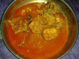 Meen mulakittathu (Spicy fish curry)