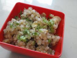 photo of sabudana khichdi