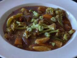 photo of sweet and sour veg curry