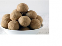 photo of whole wheat laddu